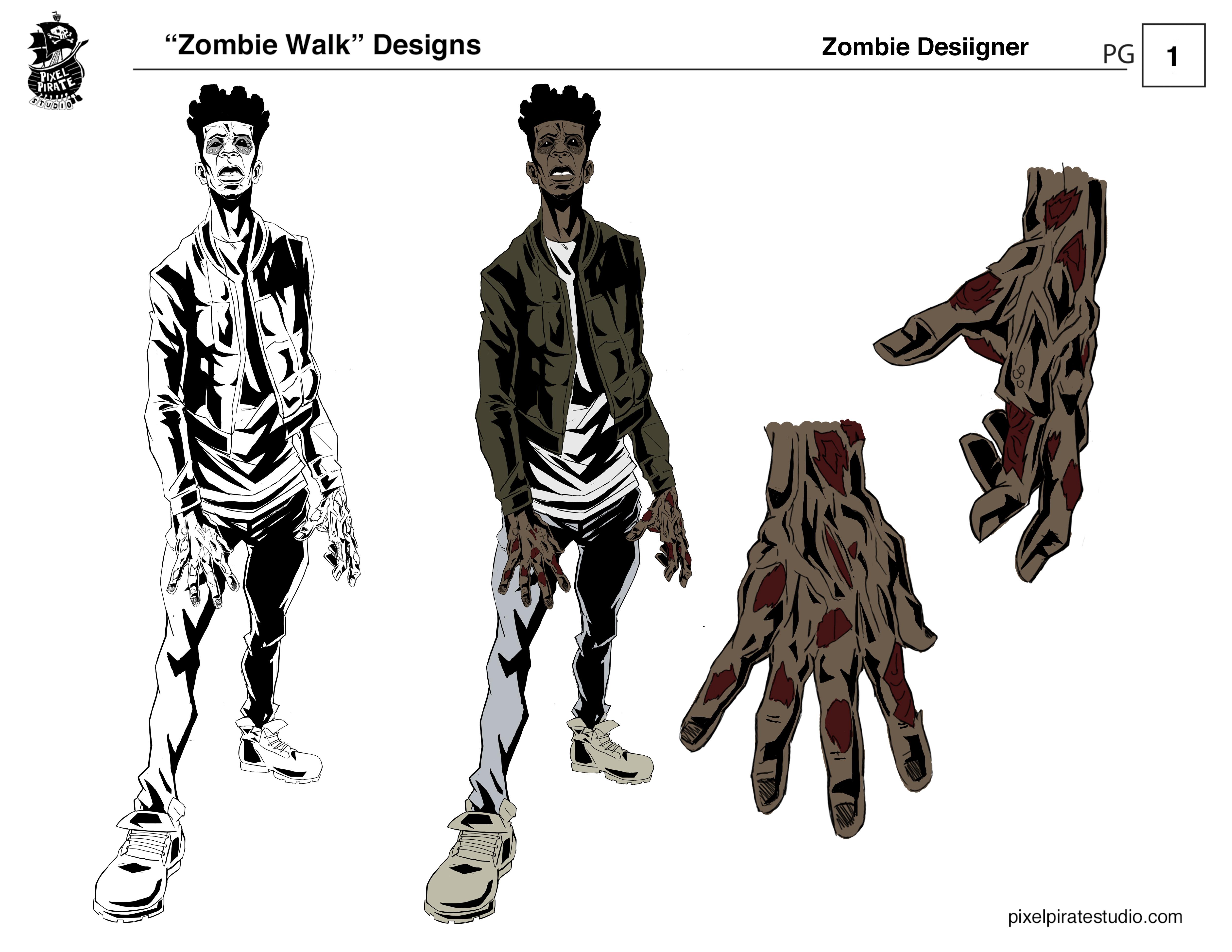 Desiigner zombie design