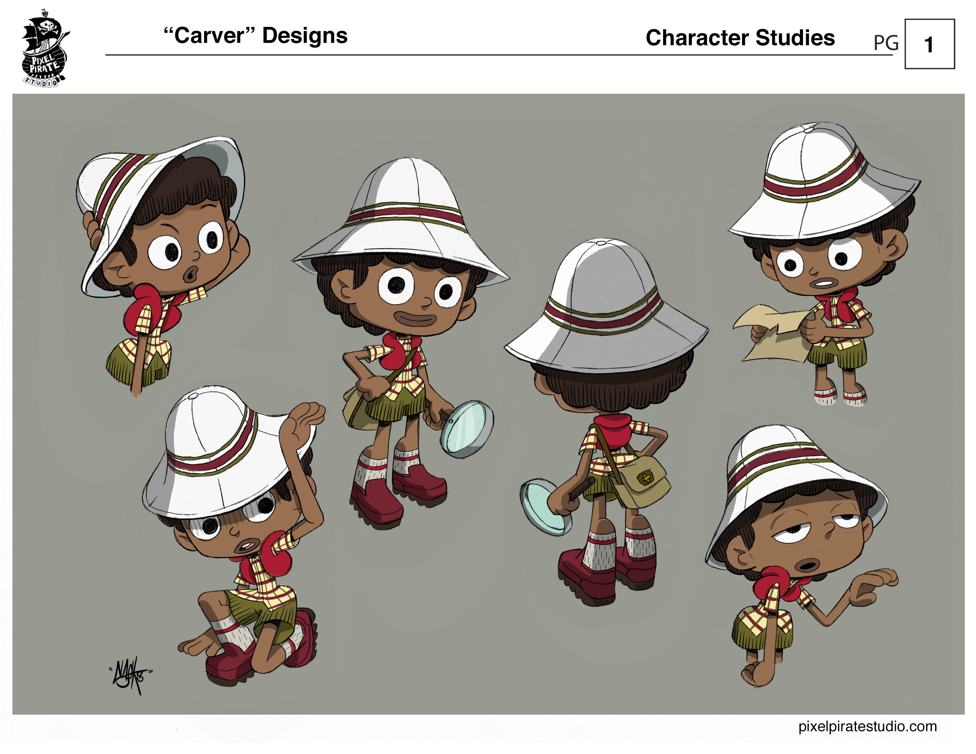 Carver studies 1